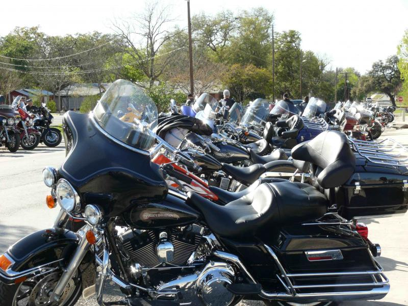 Bikers Rally in Bandera 2009